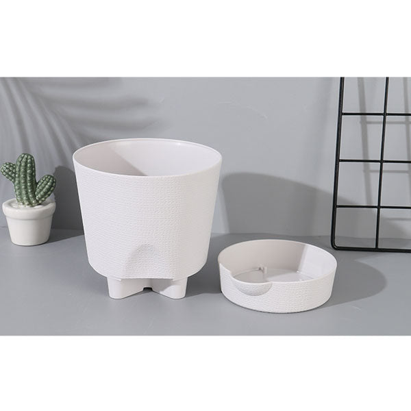 Nordic Style Rotary Base Flower Pot