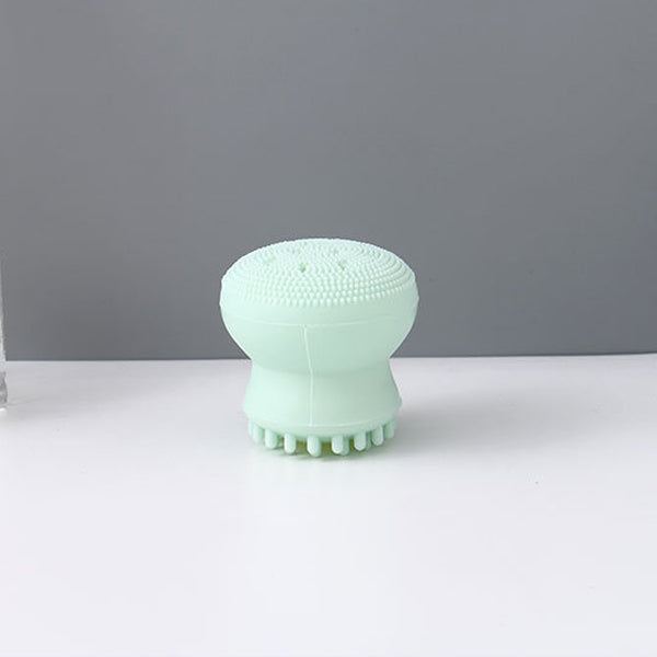 Octopus-Shaped Silicone Facial Cleansing Brush