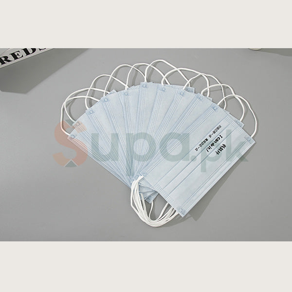 Popular Phrase Pattern Disposable Mouth Mask (10 Pack)