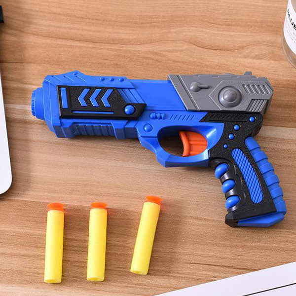 Soft Bullet Gun Toy Set Military Model Shooting Game Toy Gun