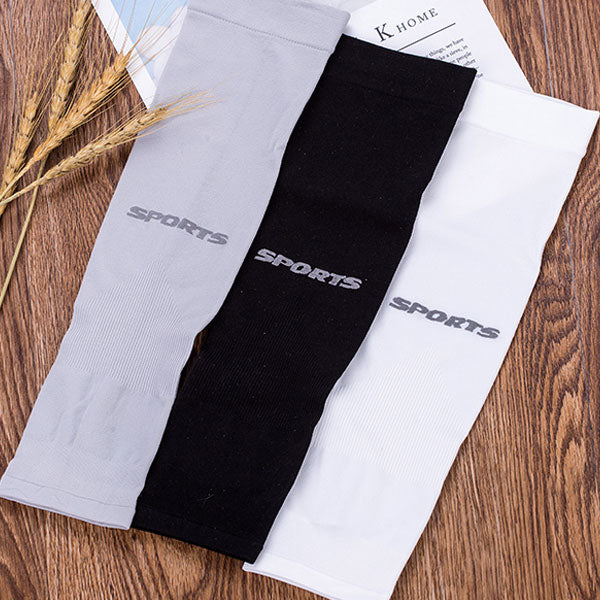 Solid Color Sport UV-Protection Arm Sleeves