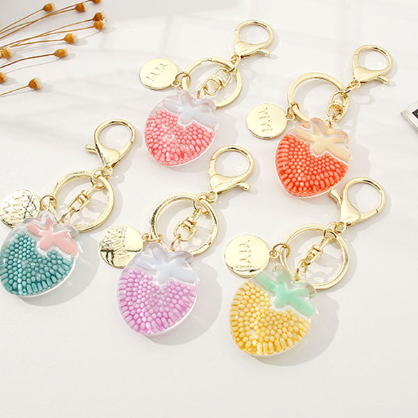 Strawberry Key Chain (Price For 1 Piece)