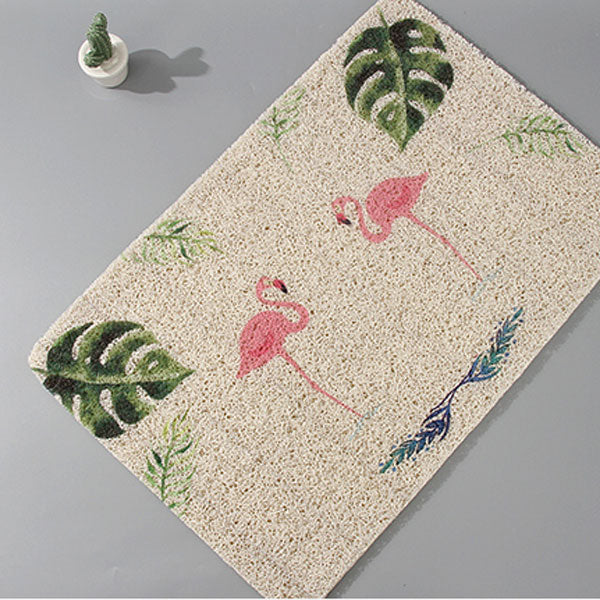 Stylish Flamingo Floor Mat