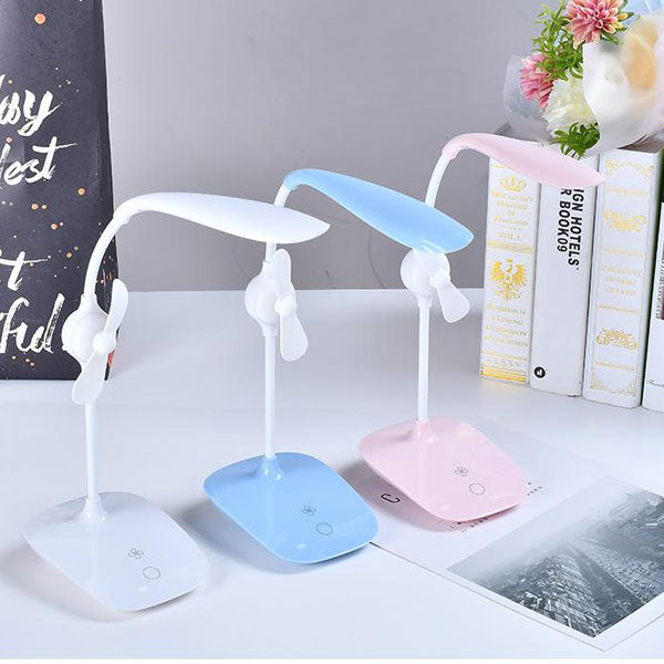 Table Lamp with Fan