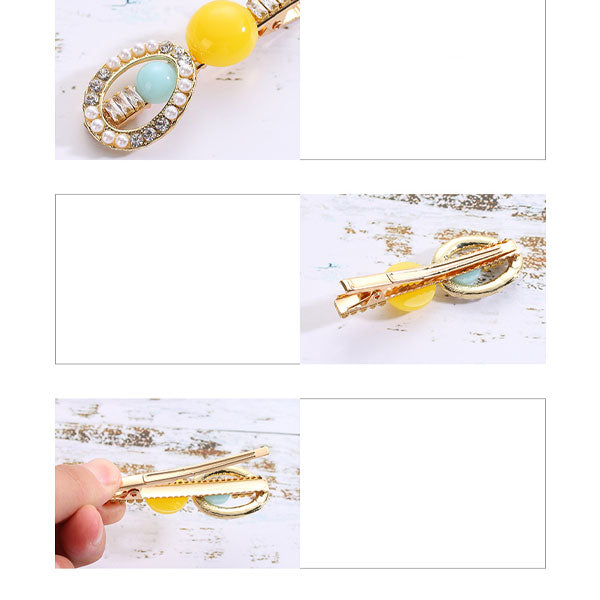 Vogue Trendy Zircon Hair Clip