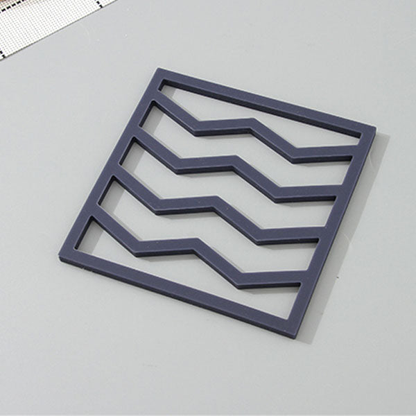 Wavy Stripes Square Silicone Mat (Price For 1 Piece)