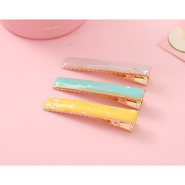 Widened Shell Fragment Hair Clip For Girls