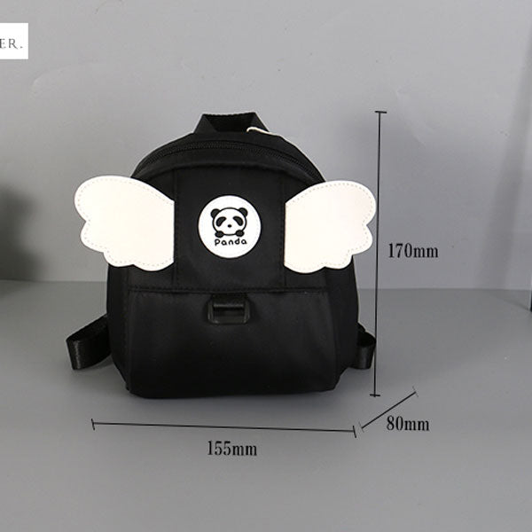 Panda Angels Wing Backpack For Children With Leash (Price For 1 Piece)
