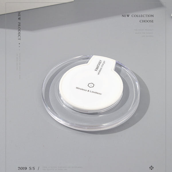 Wireless Charger-K9 (5V 1A)(White)