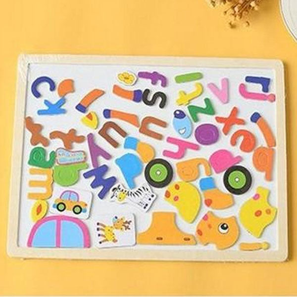 Wood Drawing Board With Magnetic Force- Educational