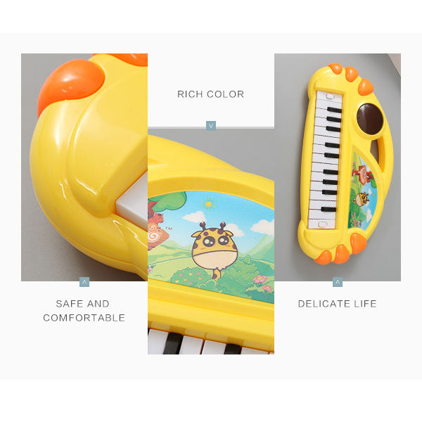 Yellow Electronic Keyboard Musical Toy