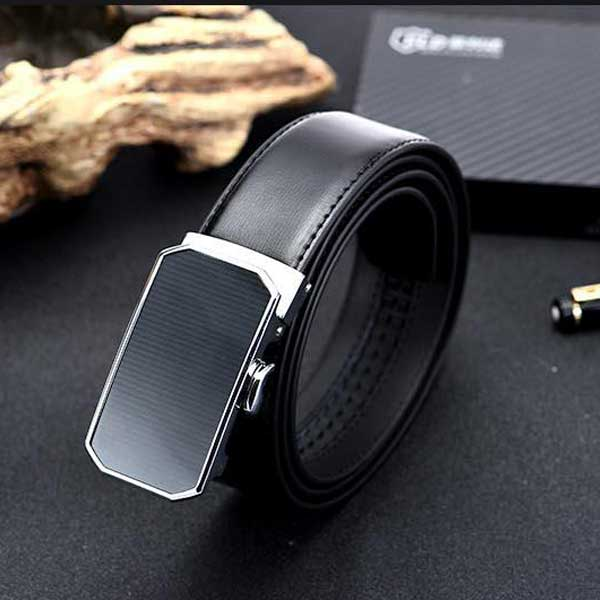 Simple Leather Belt for Men
