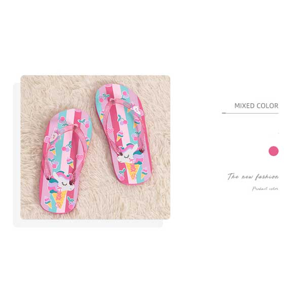 Colorful Collection Girls Flip-Flops