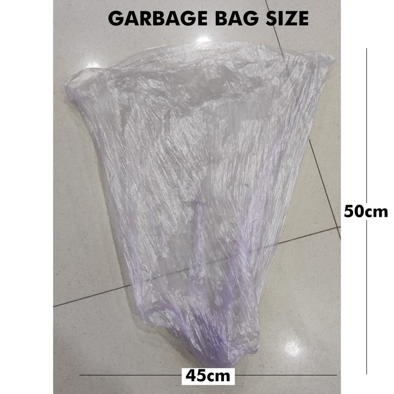 Multicolored Thickened Garbage Bags (80 Pieces)