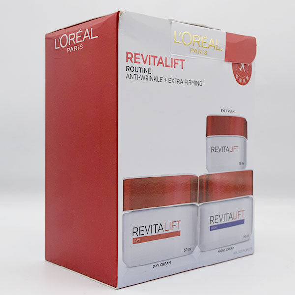 Loreal Paris Revitalift Routine - Anti Wrinkle + Extra Firming