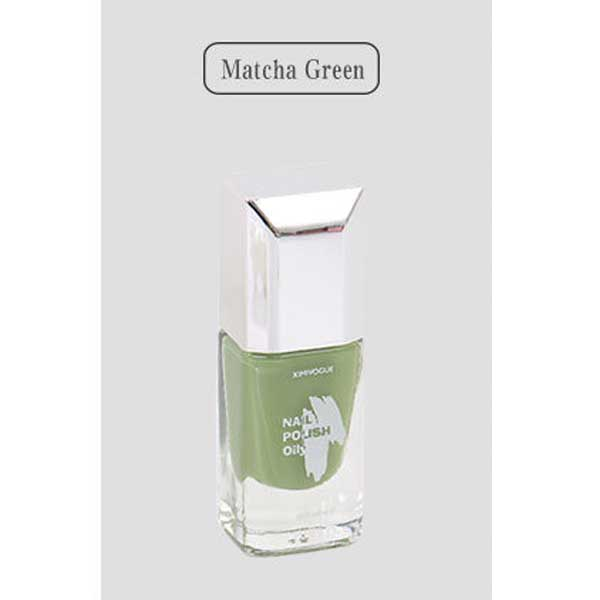 Pastel Reflections Nail Polish (Matcha Green)