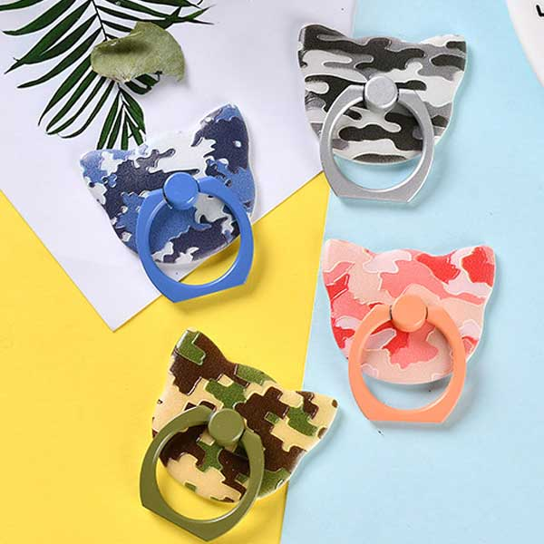 Cat Camouflage Ring Holder (Pack of 2)