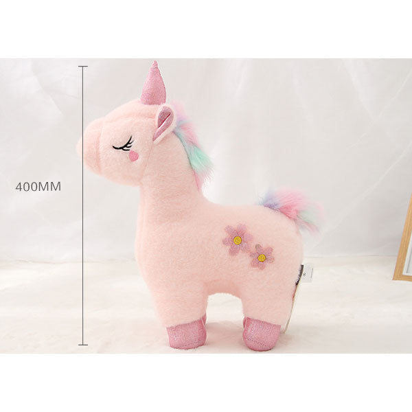 Pink Unicorn Plush Doll (Price For 1 Piece)
