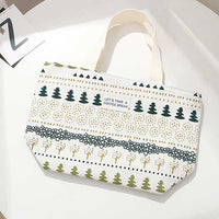 Plant Series Green Plant Lunch Bag (White)