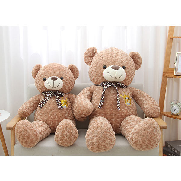 Rose Velvet Gift Bear Plush Doll 110cm (Brown)