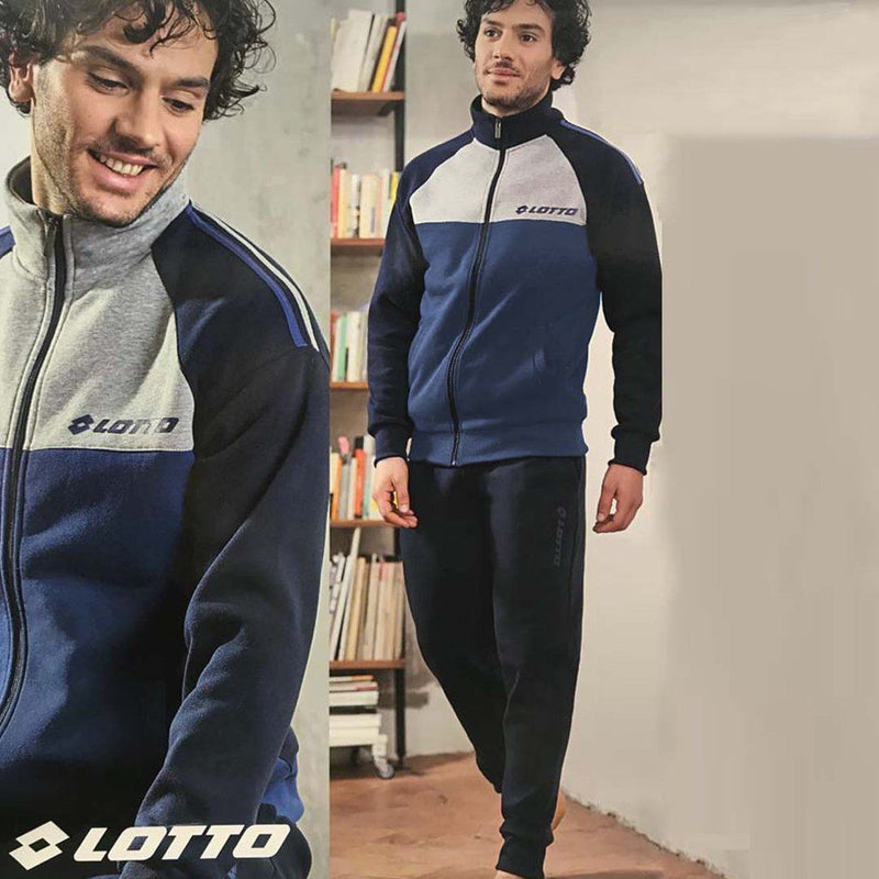 Men exclusive Color Block Fleece Tracksuit