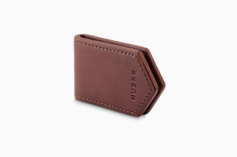 Magnetic Money Clip / Dark Brown