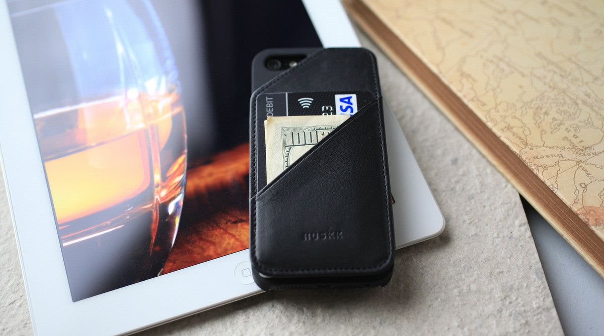 iPhone 5 Wallet Case - stashback commuter series otterbox SKINU hardgraft
