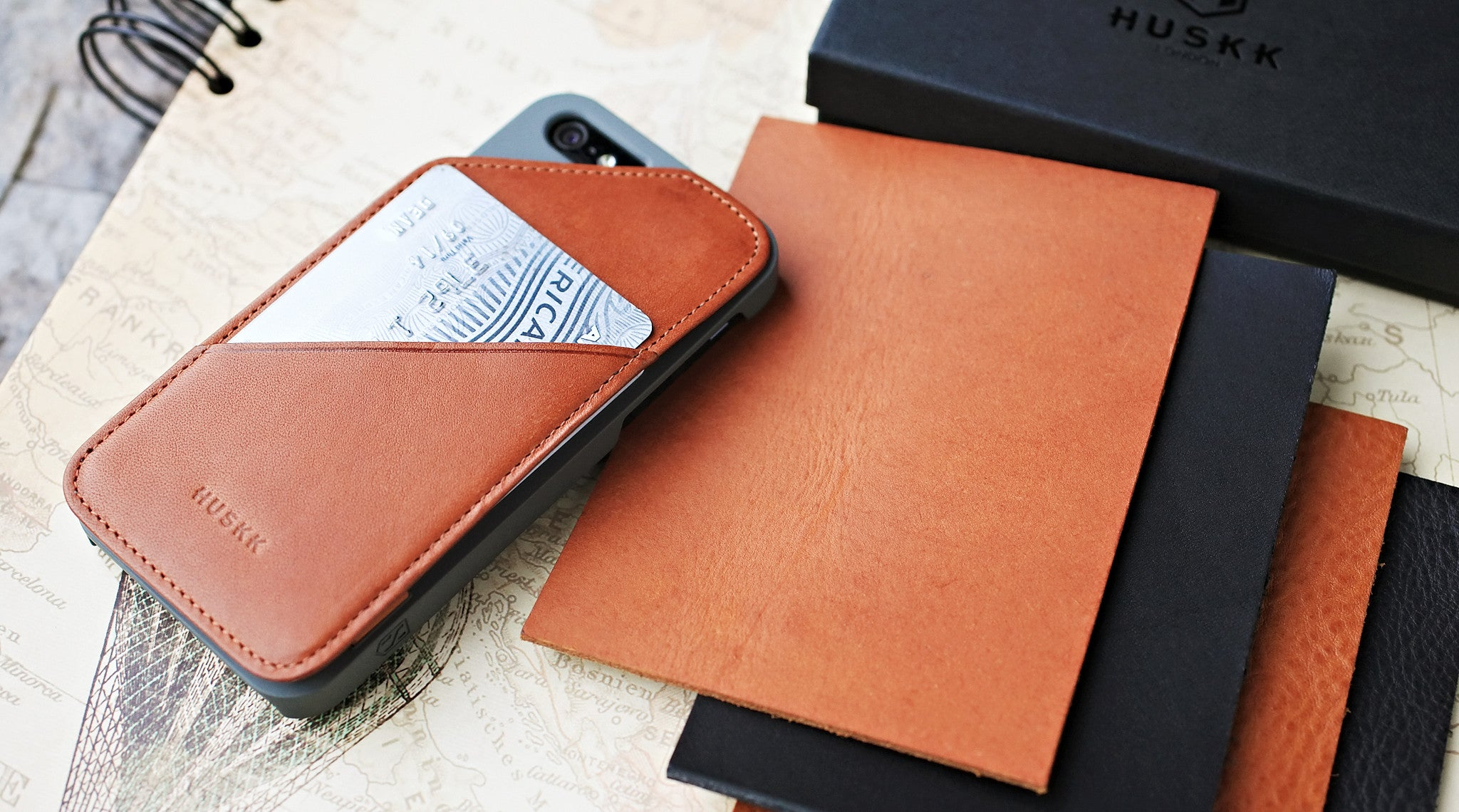 iPhone 6/6s Wallet Case / Tan