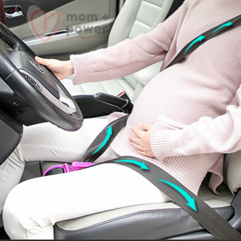 Pregnancy Seat Belt Positioner Demo