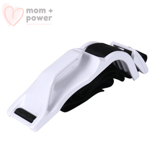 Pregnancy Seat Belt Positioner Maternity Baby Belt White