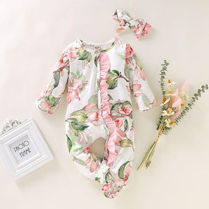 [Spring 2021] Infant Baby Floral Romper Best Seller | Mom Power™