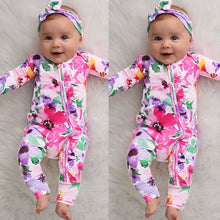 Load image into Gallery viewer, [Spring 2021] Infant Baby Girl Floral Romper | Mom Power™