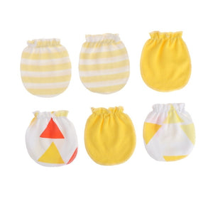 Newborn Baby  Cotton Gloves (3Pairs) | Mom Power™