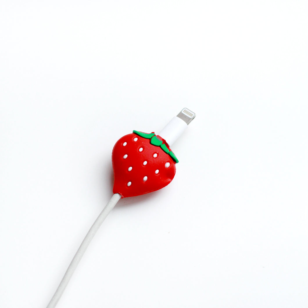 Strawberry Charger Cover