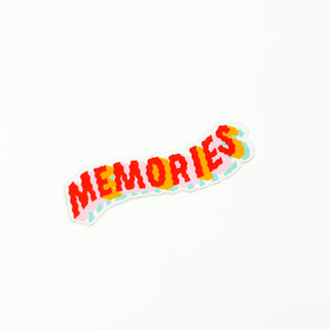 Rainbow Memories Sticker