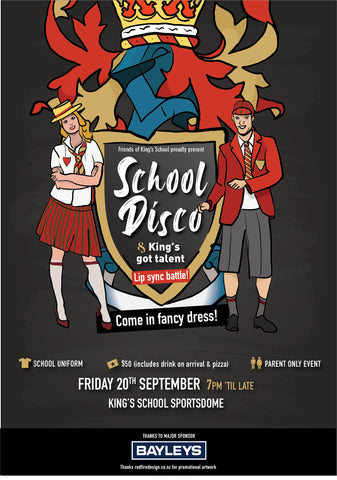 Friends' School Disco