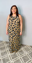 Load and play video in Gallery viewer, Animal Print Taupe Maxi