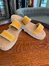 Load image into Gallery viewer, Mustard Sandal