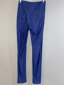 Blue Jegging Pants