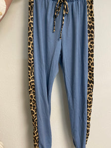 Deep Sea Animal Print Side Strip Joggers