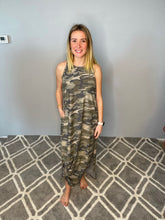 Load image into Gallery viewer, Camo Tank Maxi