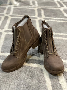 Old Times Taupe Boot