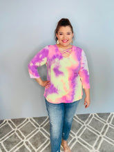 Load image into Gallery viewer, Pink Tie Dye Top