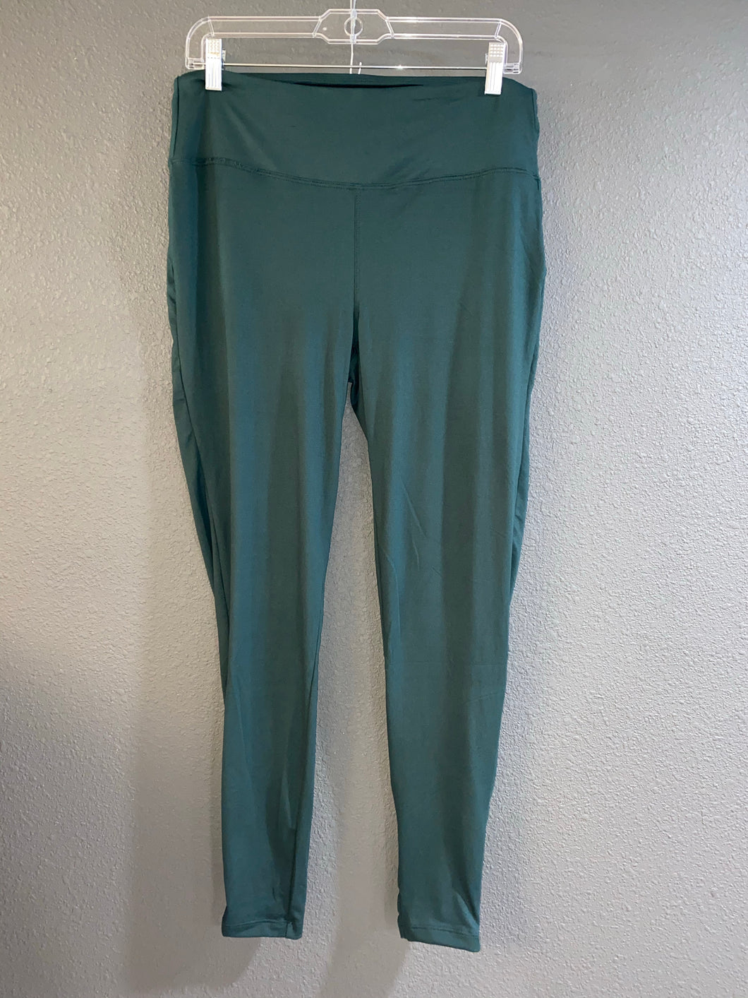 Hunter Green Wide Waistband Leggings