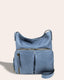 Albany Crossbody - bay blue front