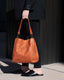 Austin Triple Entry Hobo - amber lifestyle