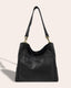 Austin Triple Entry Hobo - black front