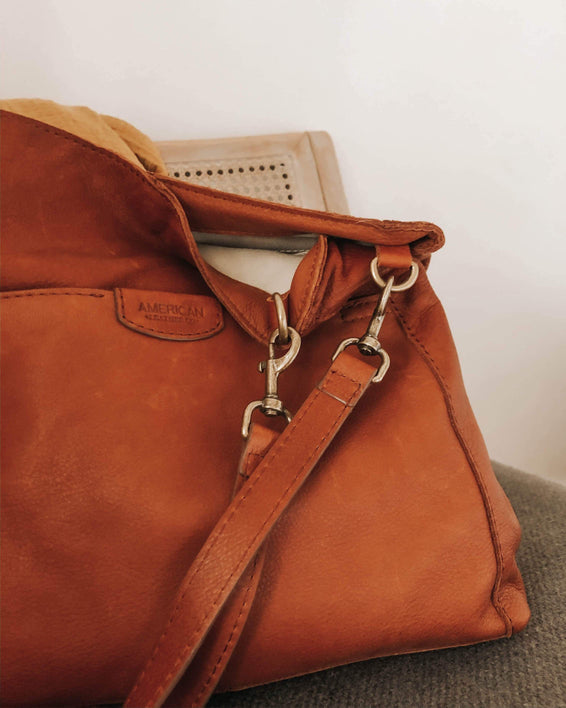 Austin Triple Entry Hobo - brandy lifestyle