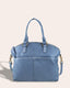 Carrie Dome Satchel - bay blue front