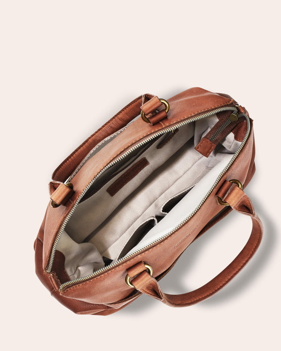Carrie Dome Satchel - inside